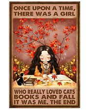 CAT FALL AND CATS 16x24 Poster front