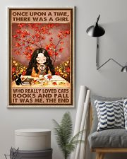 CAT FALL AND CATS 16x24 Poster lifestyle-poster-1