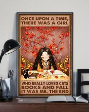 CAT FALL AND CATS 16x24 Poster lifestyle-poster-2