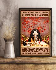 CAT FALL AND CATS 16x24 Poster lifestyle-poster-3