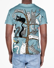 Cat 3D Pattern All-over T-Shirt aos-all-over-T-shirt-lifestyle-back-02