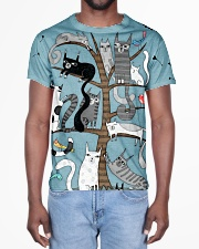 Cat 3D Pattern All-over T-Shirt aos-all-over-T-shirt-lifestyle-front-02
