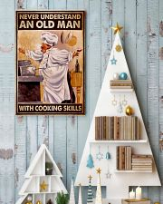 Chef Never Understand An Old Man With Cooking  16x24 Poster lifestyle-holiday-poster-2