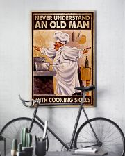 Chef Never Understand An Old Man With Cooking  16x24 Poster lifestyle-poster-7