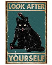 Cat Look After Yourself 16x24 Poster front
