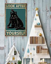 Cat Look After Yourself 16x24 Poster lifestyle-holiday-poster-2