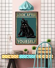 Cat Look After Yourself 16x24 Poster lifestyle-poster-6