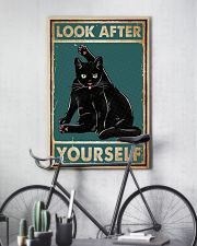 Cat Look After Yourself 16x24 Poster lifestyle-poster-7