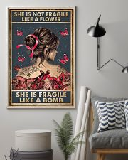 Tattoo She Is Not Fragile Tattoos 11x17 Poster lifestyle-poster-1