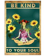 Yoga Be Kind To Your Soul 11x17 Poster front