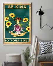 Yoga Be Kind To Your Soul 11x17 Poster lifestyle-poster-1
