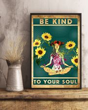 Yoga Be Kind To Your Soul 11x17 Poster lifestyle-poster-3