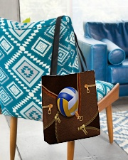 Volleyball Beauty Totebag All-over Tote aos-all-over-tote-lifestyle-front-01