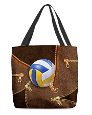 Volleyball Beauty Totebag All-over Tote back
