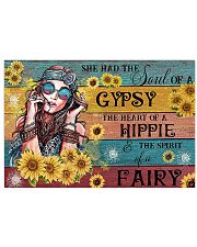 Hippie She Has The Soul Of Gypsy 17x11 Poster front
