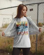 Daddy Shark Doo Doo Doo Classic T-Shirt apparel-classic-tshirt-lifestyle-07