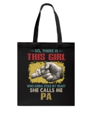 Pa This Girl Stole My Heart Vintage Tote Bag tile