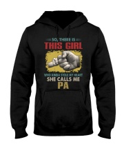 Pa This Girl Stole My Heart Vintage Hooded Sweatshirt tile