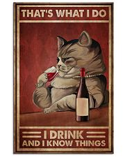 Cat That's What I Do 16x24 Poster front