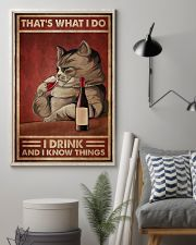 Cat That's What I Do 16x24 Poster lifestyle-poster-1