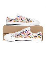 Chicken Colorful Chickens Shoes Men's Low Top White Shoes thumbnail