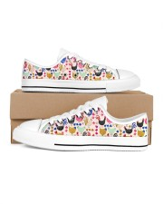 Chicken Colorful Chickens Shoes Women's Low Top White Shoes thumbnail