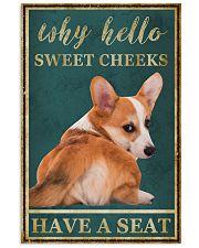 CORGI WHY HELLO SWEET CHEEKS 11x17 Poster front