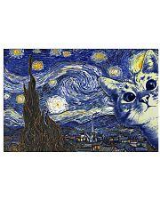 Cat Van Gogh 17x11 Poster front