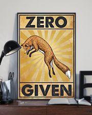 Zero Fox Given 11x17 Poster lifestyle-poster-2