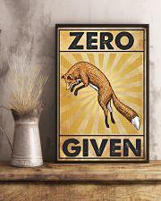 Zero Fox Given 11x17 Poster lifestyle-poster-3