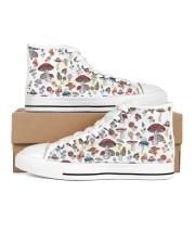 Mushroom Shoes Women's High Top White Shoes thumbnail