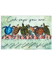 Turtle Got Says You Are 17x11 Poster front