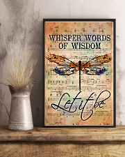 Hippie Let It Be 11x17 Poster lifestyle-poster-3