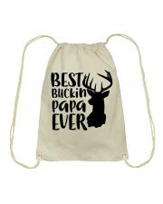 Best Bucking Papa Drawstring Bag tile