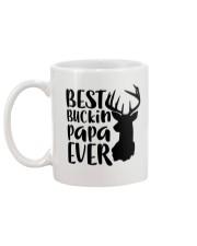 Best Bucking Papa Mug back