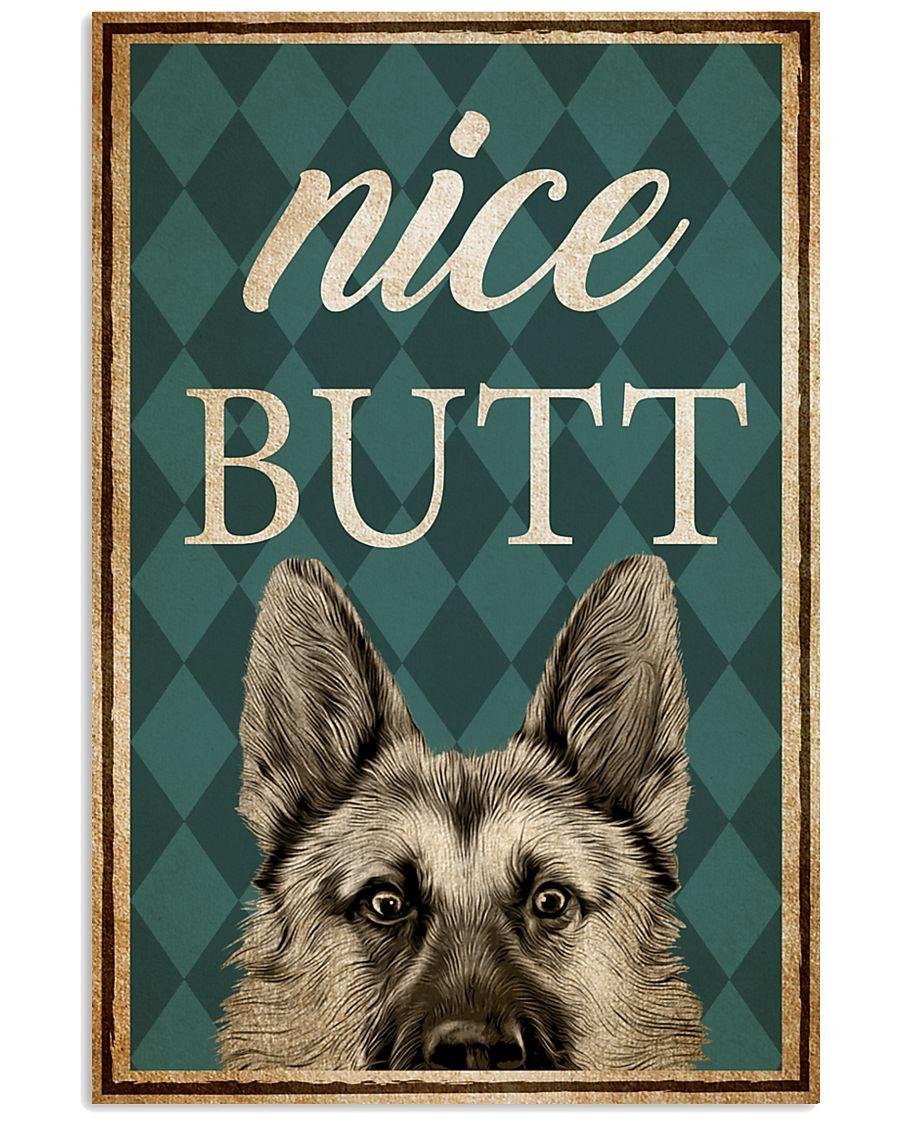 German Shepherd Nice Butt 16x24 Poster