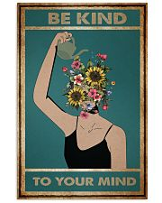 Gardening Be Kind To Your Mind 11x17 Poster front