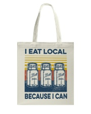 Canning I Eat Local Tote Bag tile