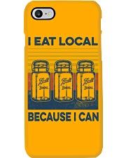 Canning I Eat Local Phone Case tile