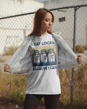 Canning I Eat Local Classic T-Shirt apparel-classic-tshirt-lifestyle-07