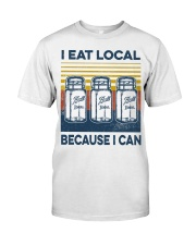 Canning I Eat Local Classic T-Shirt front