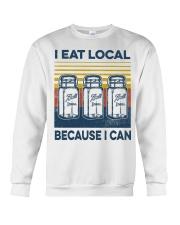Canning I Eat Local Crewneck Sweatshirt tile