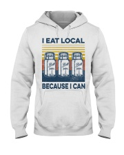 Canning I Eat Local Hooded Sweatshirt tile