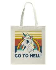 Go To Hell Tote Bag tile