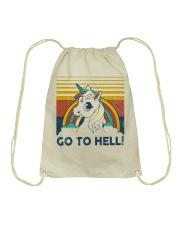 Go To Hell Drawstring Bag tile