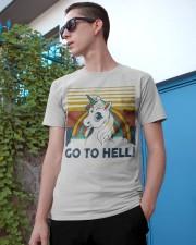 Go To Hell Classic T-Shirt apparel-classic-tshirt-lifestyle-17
