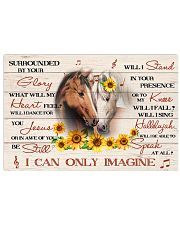 Horse Surrounded By Your Glory 17x11 Poster front