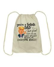 Your're fantastic Dad Drawstring Bag tile