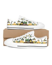 Tracktor Shoe Men's Low Top White Shoes inside-right-outside-right
