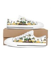 Tracktor Shoe Women's Low Top White Shoes tile